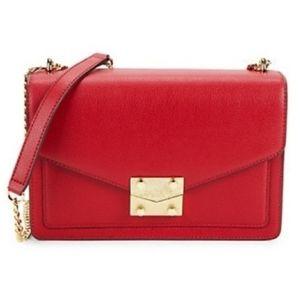 Karl Lagerfeld NWT Red Satchel Bag